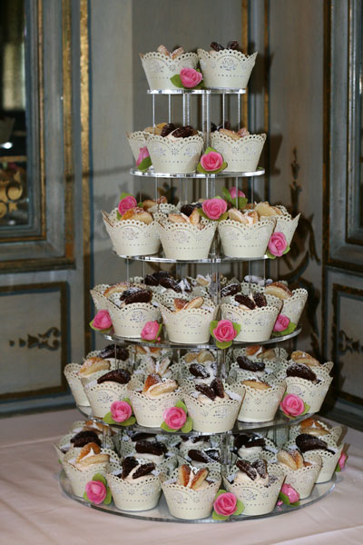 Butterfly Cupcake Wedding Cakes